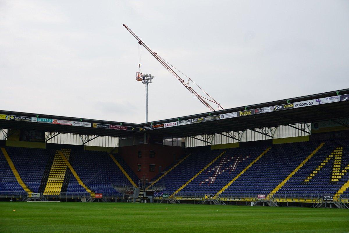 advies in vastgoed is namens de gemeente breda ingehuurd om het rat verlegh stadion te verduurzamen en daarbij zorg te dragen om nog voor de zomer van 2017